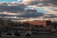 Hospital - Evening Sky
